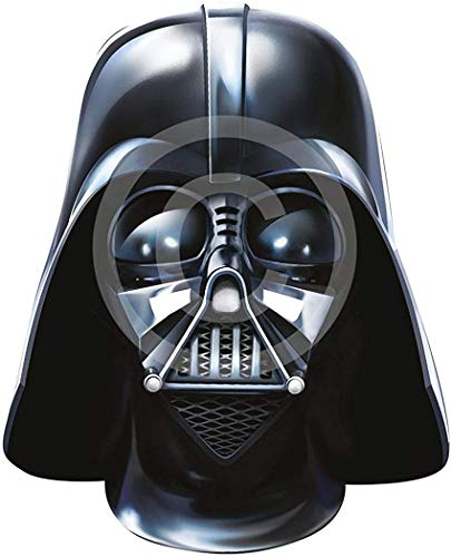 Ausgefallenes Halloween Kleid Party Welt Buch Wochentag Character Karte Das Gesicht Bedeckend Maske - Darth Vader, One size
