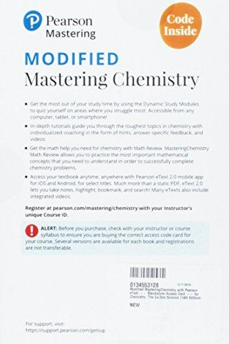 MODIFIED MASTERINGCHEMISTRY W/