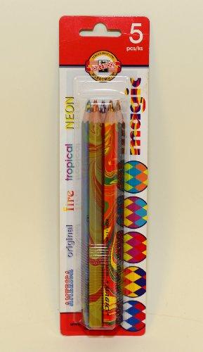 KOH-I-NOOR MAGIC 3406 Jumbo Special Crayons de couleur Maqique dans un Paquet...