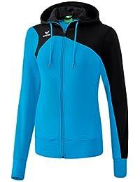 Erima Damen Club 1900 2.0 Trainingsjacke, mit Kapuze