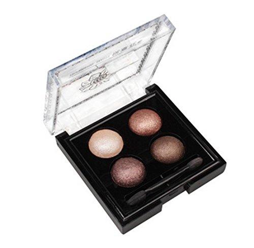 MZP Ojos 3D de cuatro colores ricos no horneados sombra de ojos SUMI para impermeabilizaciones pintura