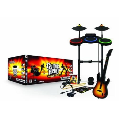 Preisvergleich Produktbild Guitar Hero: World Tour - Complete Band Pack