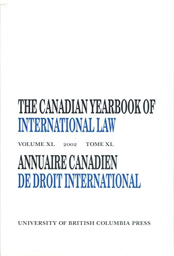 Canadian Yearbook of International Law 2002