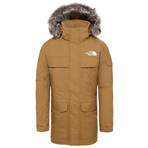 The North Face McMurdo - Chaqueta Impermeable, Hombre, Beige (British Khaki), XS