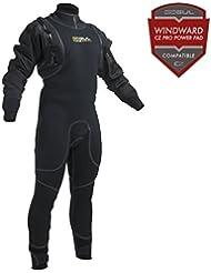 Gul CODE ZERO HYBRID 4mm Hybrid Dry Wetsuit 2017 - Black