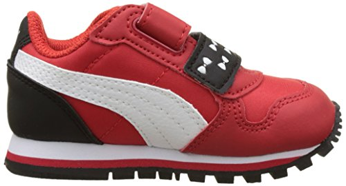 Puma Sesame Str St Runner Elmo Hoc V Inf, Scarpe da Ginnastica Basse Unisex – Bambini Rosso (High Risk Red-puma White 01)
