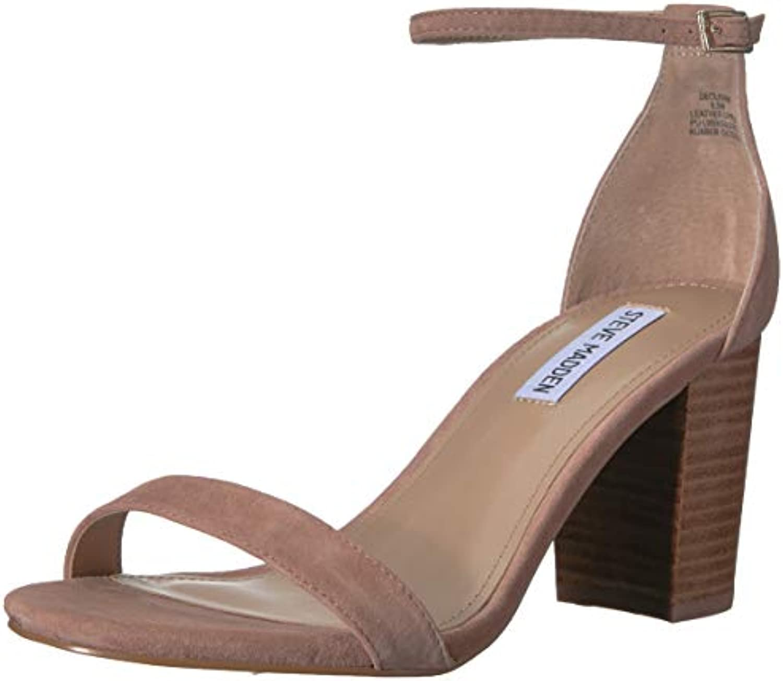 Steve Madden Wouomo DECLAIRW Heeled Heeled Heeled Sandal, Tan Multi, 7.5 W US | Shop  6e7ae9
