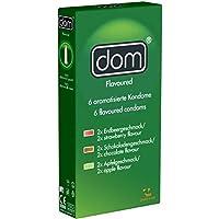 DOM® Flavoured - 6 aromatisierte Kondome preisvergleich bei billige-tabletten.eu