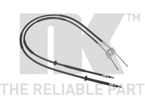 Preisvergleich Produktbild NK 9025116 Seilzug, Feststellbremse