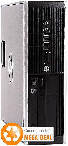 hp Compaq Elite 8200 SFF, Core i5, 500 GB HDD, DVD-RW (generalüberholt) (Hp Tower Refurbished)