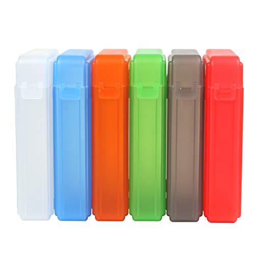 KOosbon - Juego de Cajas Protectoras para almacenar Discos Duros IDE/SATA HDD de 3,5 Pulgadas, 6 Unidades