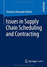 Issues in supply chain scheduling and contracting hier kaufen
