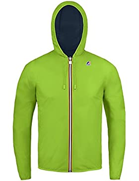 K-Way JACQUES PLUS DOUBLE FLUO GREENFLUO-BLUE DEPHT