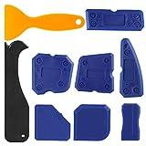 OOTSR 9 pezzi set di strumento di calafataggio, strumenti di sigillatura per rimozione silicone per la cucina del bagno e sigillante per cornici di finestre