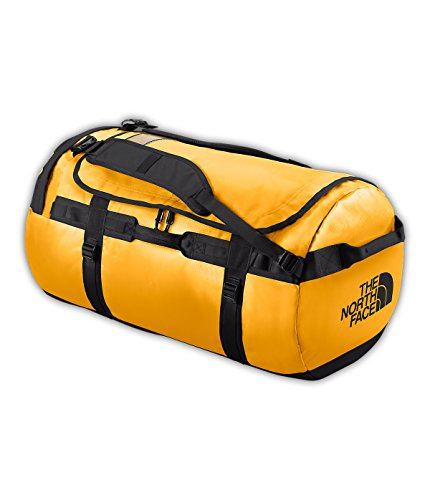The North Face Base Camp Bolsa de Deporte, Unisex, Amarillo (Summit Gold/TNF Black), 64.5 x 35.5 x 35.5 cm, 71 L