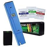 Pocket Size 0.0-14.0 PH Meter, Digital Water Quality Tester Pen Type ATC ± 0.1pH Misurazione, Kit Portatile Acqua Potabile Per Uso Domestico, Piscine, Acquari, Idroponica