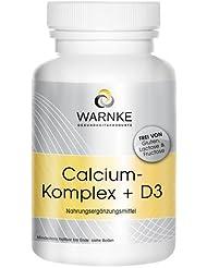 Calcio y D Complex – con Calcio- Magnesio y Vitamina D3 – 100 cápsulas –