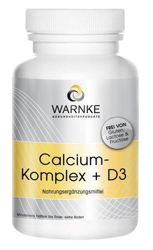 Calcio y D Complex - con Calcio- Magnesio y Vitamina D3 - 100