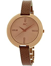 MC Timetrend Damen-Armbanduhr Analog Quarz Metall / Leder 51448