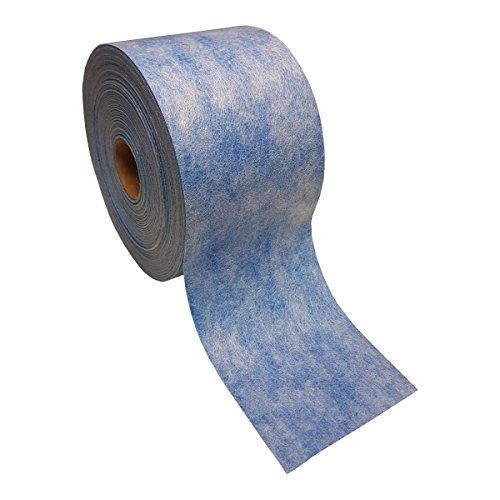 5m doitBau Sanitär Fugenband TPE blau 120mm Abdichtung für Fliesen für Bad Dusche Küche Badabdichtung Duschabdichtung
