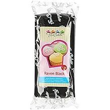 FunCakes Pasta di Zucchero Nera - 1000 gr