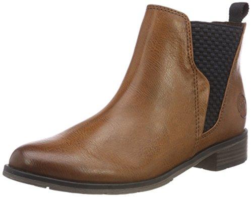 MARCO TOZZI Damen 2-2-25040-31 372 Chelsea Boots, Braun (Cognac Ant.Com 372), 39 EU