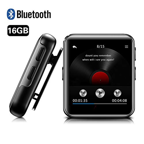 MP3 Player BENJIE 16GB MP3 Player Bloothooth 1,5