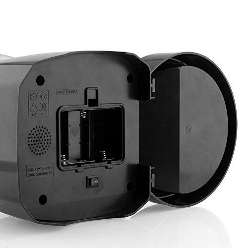 Haustier Futterspender Futterautomat Automatisch Futternapf für Hunde und Katzen mit Ton-Aufnahmefunktion ca.3kg Batterie-Betrieb Schwarz (Schwarz) - 5