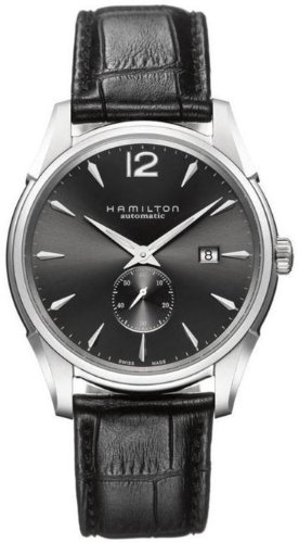 HAMILTON JAZZMASTER SLIM PETITE SECONDE AUTOMATIC H38655785 GENTS DATE WATCH