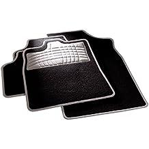 carfashion 254580universal pie   Juego de alfombrillas para escalón Protección y costuras en grau  sin soporte, Auto Esterilla apta para muchos tipos Auto