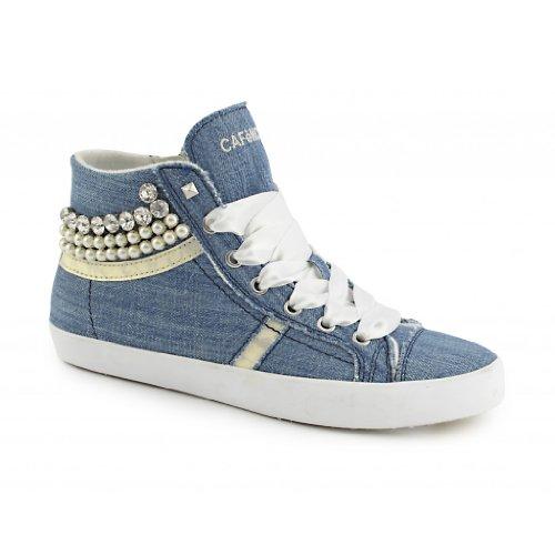 Cafè Noir Donna Sneakers, Blue, 38