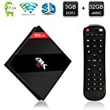 ESTGOUK H96 Pro 3GB/32GB Android 7.1 Smart TV Box Amlogic S912 Octa-Core 64bit HDMI 4K Mini PC Box 2.4GHz/5.0GHz Dual-band WIFI Bluetooth 4.1 Lan 1000M