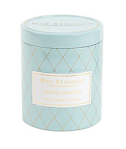Max Benjamin Serene Jasmine - Candela in latta al profumo di tè al gelsomino