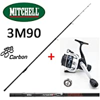 Mitchell Pack Pêche Truite Téléréglable De 3M90 + Moulinet Garni