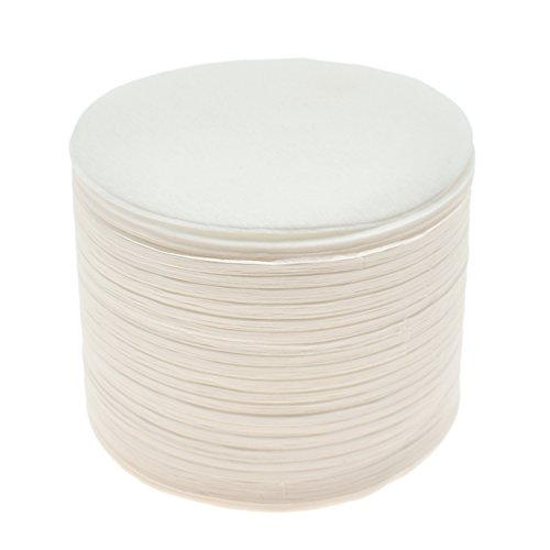 Kesheng 350x Filterpapier für Kaffeemaschine Weiß Rund Ersatz Durchmesser 6.4cm