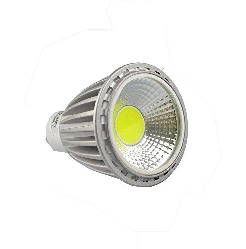 RunQiao 10*GU10 8W Ampoule LED COB Spot Lumière Blanc Froid Plafonniers Eclairage AC110-240V