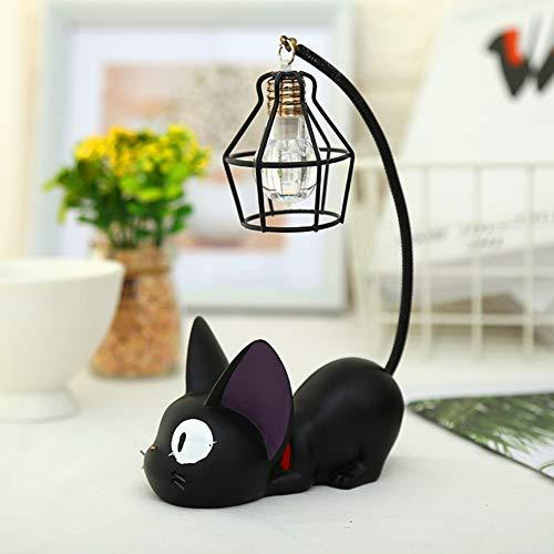 CJLAMP Emotionale Beleuchtung LED Nachtlicht Kleine Katzen Spielzeug Nachtlampe für Kind Schreibtisch Licht Dekoration Harz Kinder Cartoon Raum Lampe,Ironwire