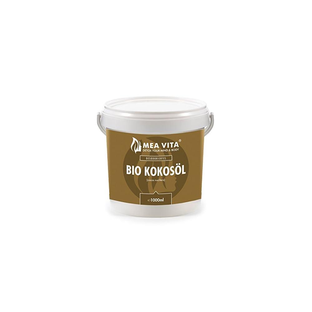 Meavita Bio Kokosl Geschmacksneutral Desodoriert 1er Pack 1 X 1000 Ml