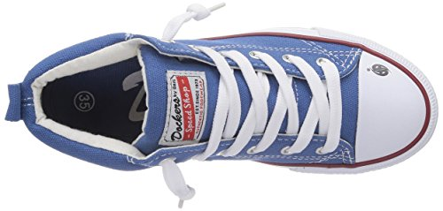 Dockers by Gerli  36AY60, Baskets hautes mixte enfant Bleu - Blau (blau 600)