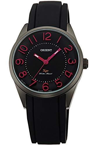 Orient Womens Analogue Quartz Watch with Rubber Strap FQC0R005B0
