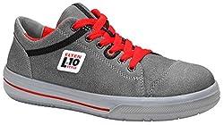 ELTEN VINTAGE Low ESD S3 - Sicherheitsschuh im Sneaker-Style | Used-Look Rindleder | Stahlkappe | Durchtrittschutz: textil | Gr. 43