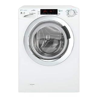 Candy-GVSW-696TWHC-01-Waschmaschine-mit-Wschetrockner-Frontlader-freistehend-wei-links-drehbar-Touchscreen-Edelstahl