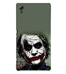 printtech Joker Gotham Back Case Cover for Sony Xperia Z3 Plus / Sony Xperia Z3+