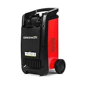 GREENCUT CRB500 – Cargador automático de batería multifunción monofásico de 12V/24V y 50A, cargador con opciones de Carga Rápida y Normal