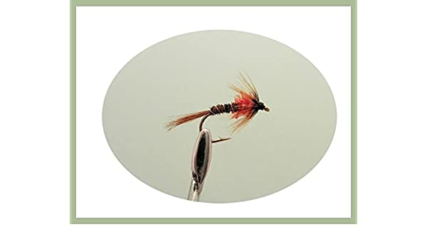 12 Pack Red Crunchers Fly Fishing Mixed 10//12//14 Cruncher Nymph Trout Flies