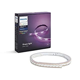 Philips Hue Ruban Lumineux Lightstrip White And Color Ambiance de 2 Mètres, Bande Flexible Lumineuse Contrôlée Par Smartphone - Lampe Led à Variation de Couleurs - Fonctionne avec Alexa (B0148NMVQA) | Amazon price tracker / tracking, Amazon price history charts, Amazon price watches, Amazon price drop alerts