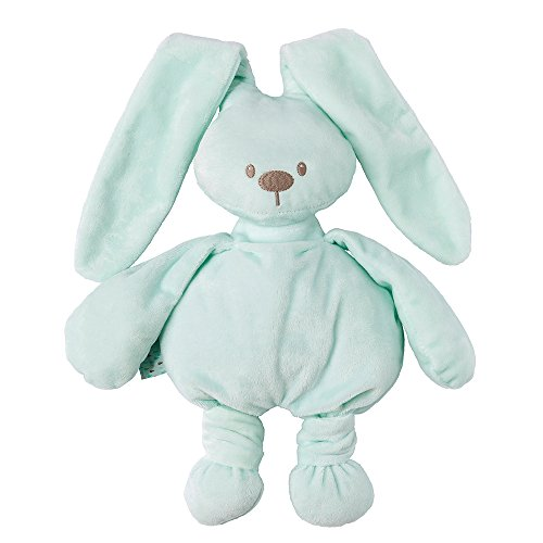 Nattou 878029 Lapidou Kuscheltier Baby für Mädchen und Jungen, 30 cm Stofftier Unisex, Geschenk Spieltier, mintgrün