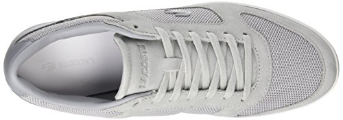 Lacoste Mens Court-minimal Bass Grey (gris Clair)