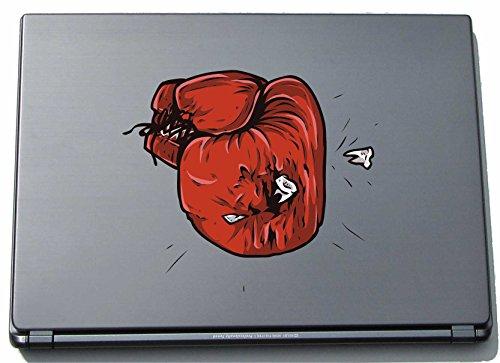 pinkelephant Per computer portatile da Sport 099 - guantoni da boxe - 210 x 241 mm adesivo