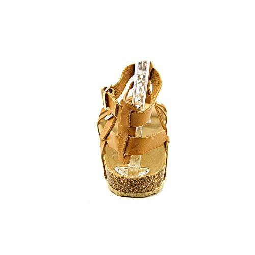 White Mountain Mandolin Cuir Sandales Gladiateur Tan